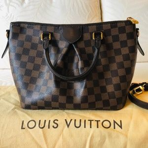 LOUIS VUITTON Damier Ebene Siena PM